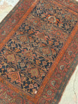 4'2 x 6' antique Kurdish rug (#656)