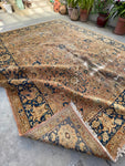 9'4 x 12' Antique Persian Tabriz (#1683) / 9x12 Vintage Rug