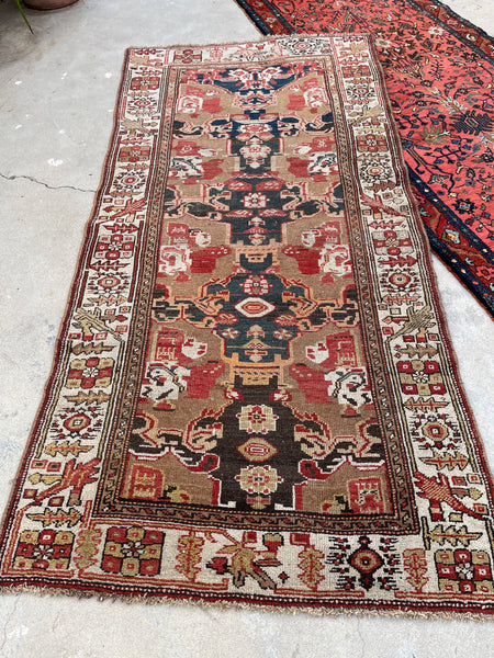3'5 x 7' Antique NW Persian rug (#1684) / 3x7 vintage rug