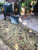 8'3 x 11' antique Persian Tabriz Rug / Large Antique Rug / Large vintage rug
