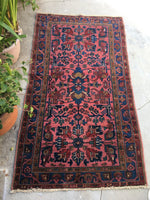 3'5 x 6'3 Antique Persian Malayer / Small Oriental Rug (#1009)
