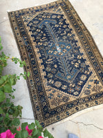 3'x 5' Antique Kurdish Rug (#826)
