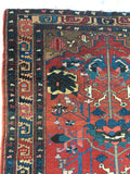 4'8 x 6'5 Antique Persian Malayer (#1014)