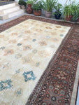 11'4 x 16'4 oversize antique Persian Sultanabad Mahal (#1019)