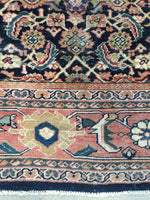 9'10 x 12'5 Midnight Blue Antique Persian Mahal (#832)