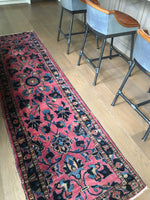 2'6 x 10'4 Antique Persian Lilihan Rug