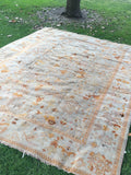 "11' x 13'10"" World Class Antique Turkish Oushak"