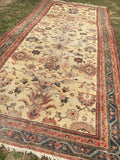 "6 x 13'3"" Antique Malayer Rug"