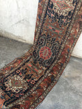 3'4 x 14' Antique Runner / Rug Runner / Antique Russian Rug