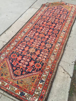 "3'5"" x 9'8 Vintage Malayer Runner"