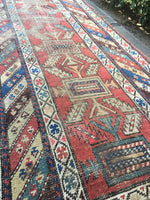 3' x 12' Antique Caucasian Runner