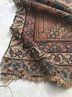 "2'6"" x 14' Antique Runner / Worn to Perfection Runner / Long Runner / Vintage Runner / Rug Runner"