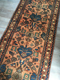 "13' x 2'7"" Antique Oriental Rug Runner"