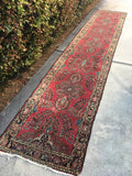 "15'4 x 2'10"" Antique Long and Skinny Persian Runner"