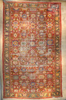 12'8 x 20'4 Antique Oversize Large Mahal Rug / 12x20 Large Antique Rug