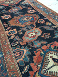 "3'3 x 6'2"" Antique Malayer / Small Vintage  Rug"