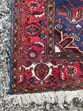 8' x 10'8 Antique Heriz Rug / Large Vintage Rug (#1098)