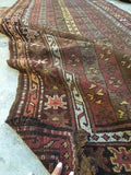 4'2 x 11'3 Antique Kurdish Runner(#1044)