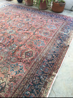9'10 x 10'9 antique Persian Mahal #1135ml (saved for Julia)