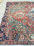 8'3 x 11' Antique Persian Heriz (#973T)