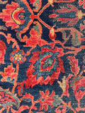 7'3 x 10'3 Antique Persian Sultanabad Mahal (#616) / 7x10 vintage rug