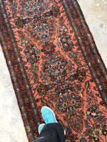 2'9 x 6'9 Antique Lilihan Runner