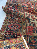 8'3 x 11'2 Antique Persian Heriz Rug