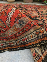 5'1 x 9'1 Antique Persian Malayer (#1482ML) / 5x9 rug