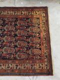 4'5 x 6'9 Antique Persian Malayer (#1470ML) / Small Vintage Rug / 5x7 vintage Rug
