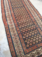 3'2 x 7' Antique Caucasian Rug
