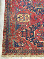 11 x 15 Antique Soumak Flat Weave Rug (#1479)