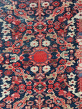 8'8 x 11'5 love worn antique Persian Hamadan rug (#1053)