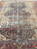 8'7 x 11'2 Antique Persian Mahal Rug (#1031)