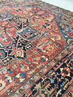 10x12 antique Persian Heriz #844 (saved)