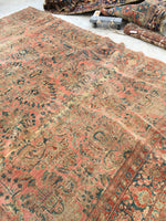 8'10 x 11'7 Antique Persian Lilihan rug (#862)