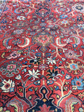 9'4 x 12' Antique Persian Mahal Rug
