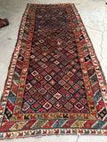 3'9 x 8'10 antique Northwest Persian Runner (#1283)