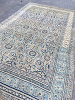 7'4 x 12'7 Antique Persian Mashhad