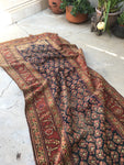 3'9 x 15'4 Antique Kurdish Runner (#1370)