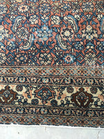 7'9 x 10'9 Antique Persian Mahal Rug