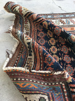 3'4 x 9'2 Antique Kurdish Runner (#1410) / Vintage Rug Runner