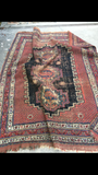4'2 x 5'1 Antique Persian Afshar Rug (#912)