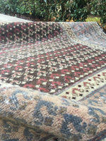 4'2 x 12' Persian Tabriz Runner