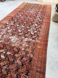 "6' x 15'10"" Antique Hand Persian Mashad"
