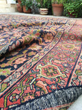 9' x 11' Midnight Blue Antique Persian Mahal (#1495) / 9x11 vintage rug