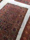 4'3 x 6'3 Antique Persian Malayer (#1384)