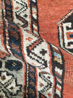 3'7 x 6'4 Antique Kazak Rug (#1289)