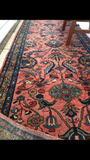 2'8' x 10'4 Antique Persian Lilihan Rug