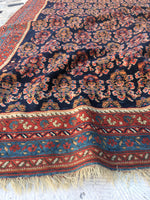 4'4 x 4'11 Antique Paisley Afshar Rug