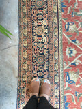 14' x 19' Oversize antique Persian Mahal (#1274)